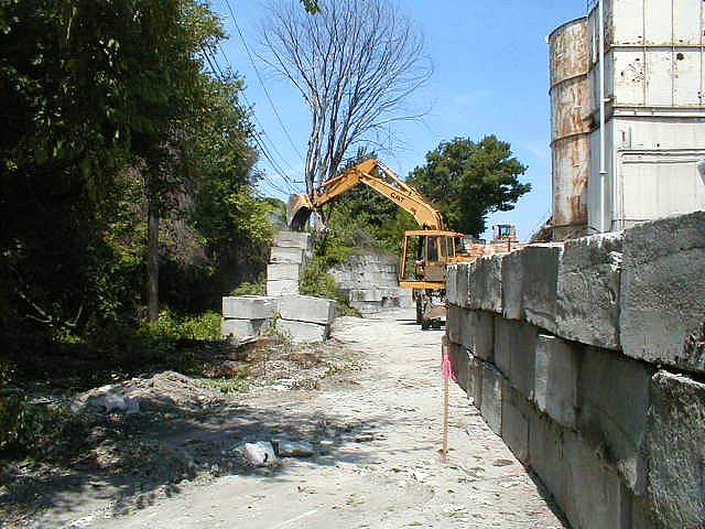 Moving the encroaching