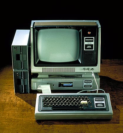 TRS-80 Model I, Business System (Smithsonian Inst.)