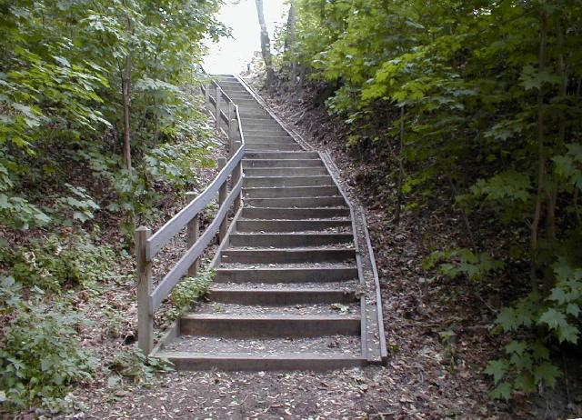 Bicycle Stairs