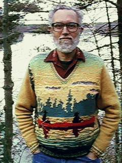 Canoe Sweater, front